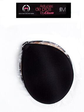 Borststeun microvezelfiber zonder schouderbandjes  noir.