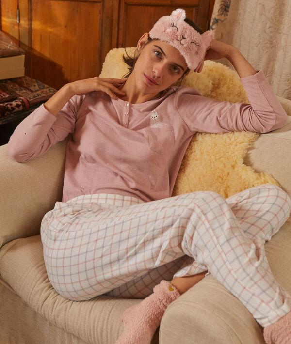 Coffret pyjama et masque