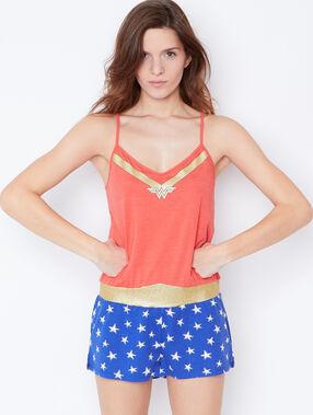 Combinaison wonder woman orange.