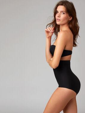 Culotte taille haute - niveau 3 : silhouette remodelée noir.