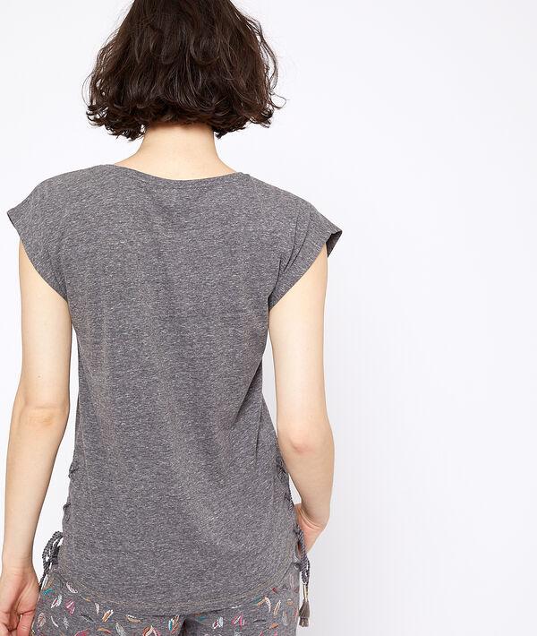 T-shirt à imprimé lune