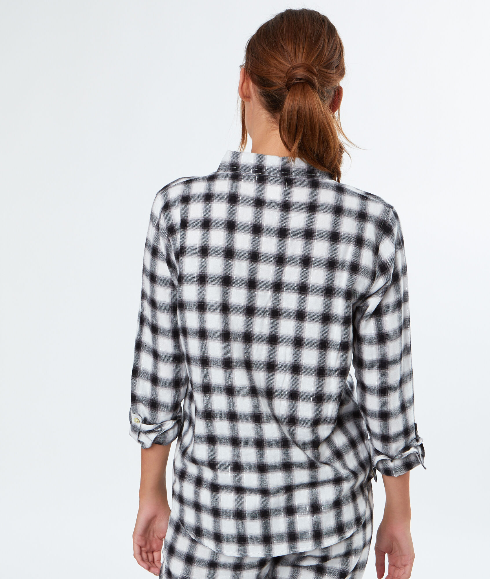 Chemise pyjama carreaux for Pyjama a carreaux