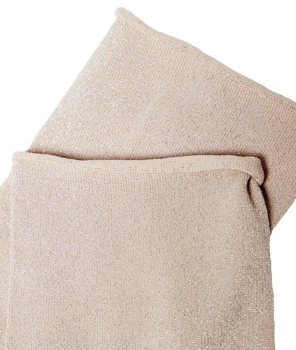 Chaussettes courtes à fibres métallisées;${refinementColor}