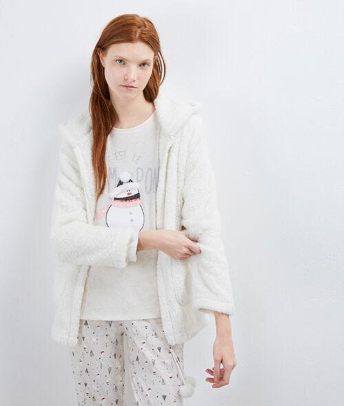 Pyjama 3 pièces imprimé bonhomme de neige