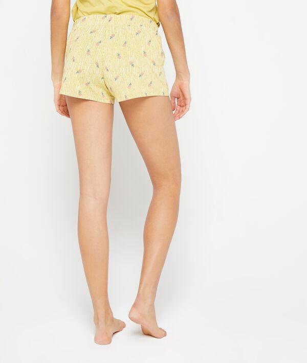 Shorts met ananasprint;${refinementColor}