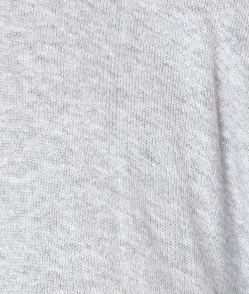Poncho majoritairement coton