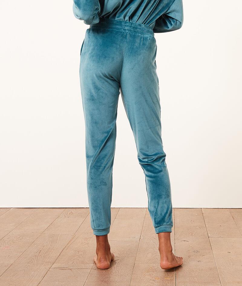 Pantalon jogger en velours;${refinementColor}