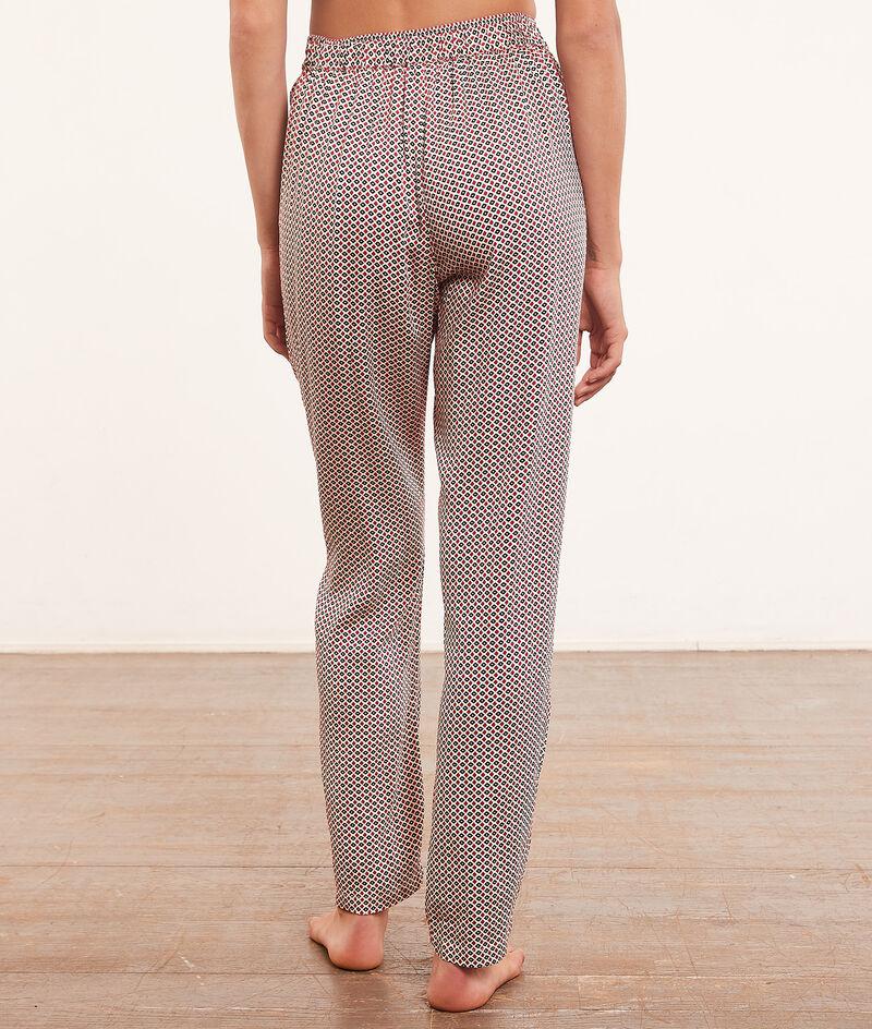 Pyjamabroek met print ;${refinementColor}