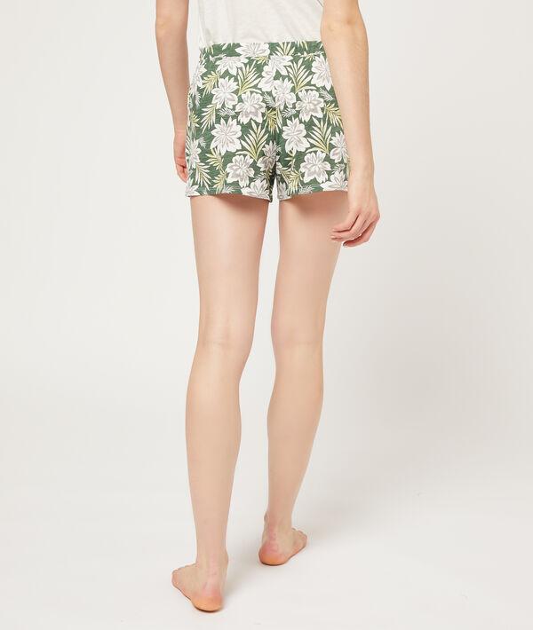 Short imprimé floral;${refinementColor}