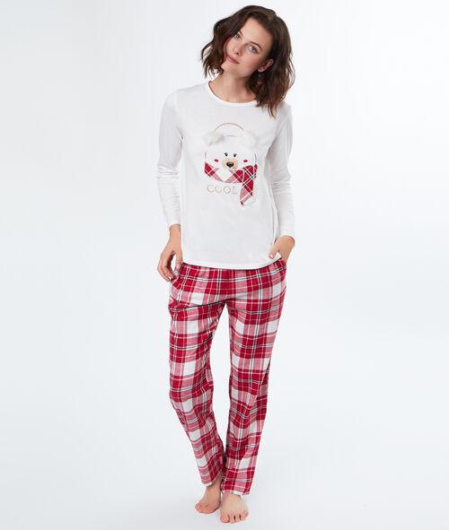 "Pyjama 3 pièces Ourson ""Cool"""