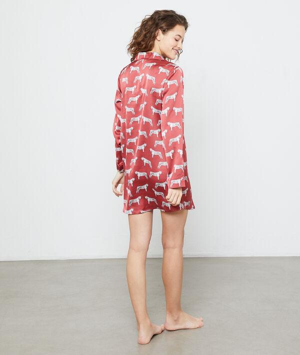 Nachthemd met tijgerprint;${refinementColor}