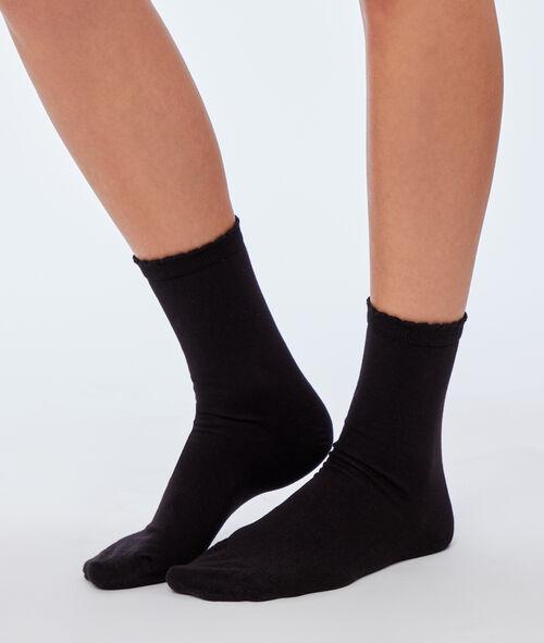 2 paires de chaussettes Etam Etam Accessoires > ACCESSOIRES PRET-A-PORTER > Chaussettes & Collants > Chaussettes