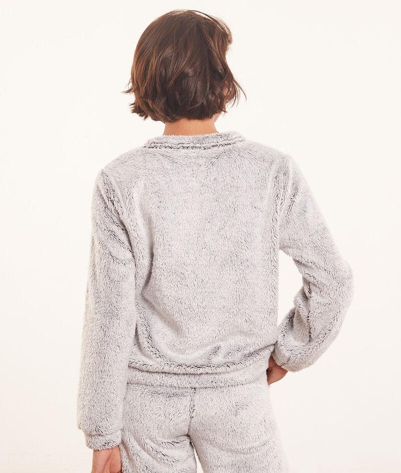 Fleece top met lange mouwen ;${refinementColor}