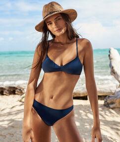 Bikinibroekje eenvoudig marineblauw.