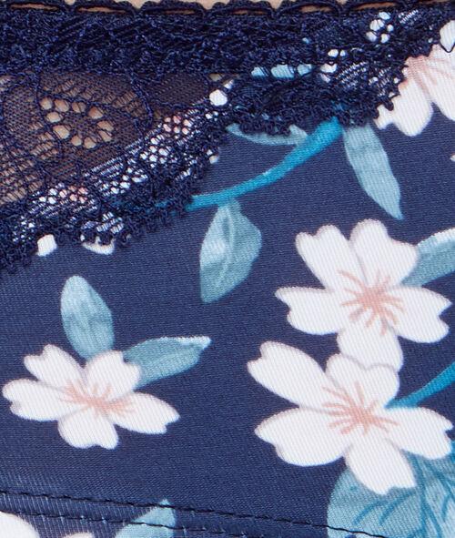 Shorty imprimé floral