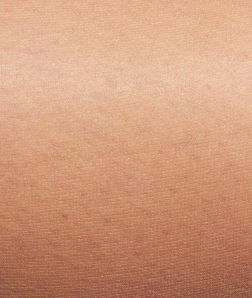 Collants voile 5D, effet huilé jambes nues