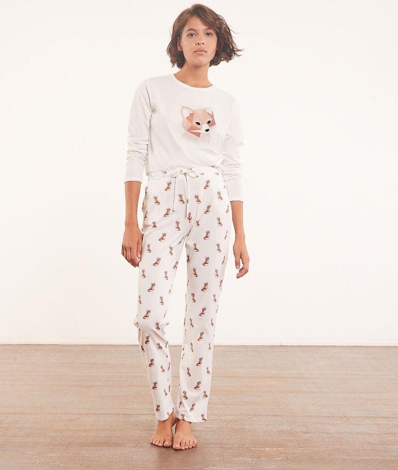 Driedelige pyjamaset, fleece vest ;${refinementColor}