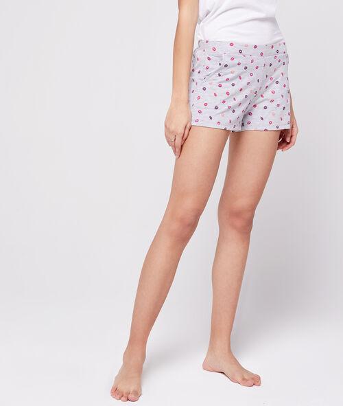 Short à motifs bisous Etam Etam Nuit > MODÈLES > Bas de Pyjama > Shorts & Pantacourts