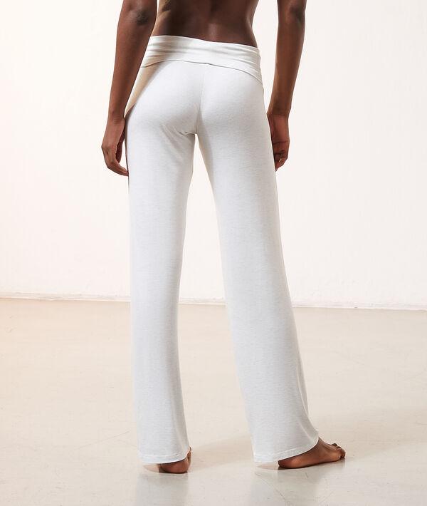 Pantalon fluide taille haute;${refinementColor}