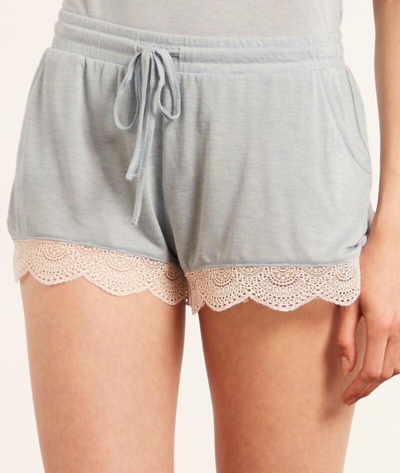 Shorts kanten boorden;${refinementColor}