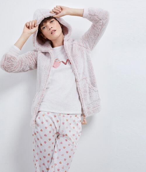 Pyjama trois pièces 'love' Etam Etam SOLDES - Prix minis et Bonnes Affaires sur Etam.com > Soldes Nuit