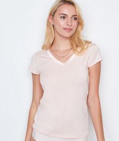 T-shirt léger et ultra chaud rose.