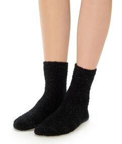 Chaussettes épaisses noir.