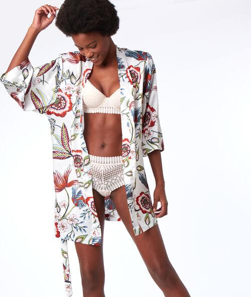 Kimono imprimé végétal Etam Etam Nuit > ET AUSSI > Kimonos > Kimonos Glam