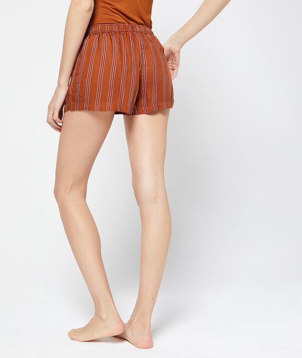 Shorts, gestreept;${refinementColor}