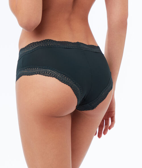 Shorty en micro bords dentelle