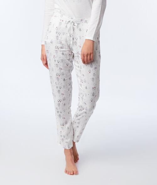 "Pyjama 3 pièces Pingouin ""Pom Pom Team"""