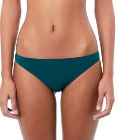 Bikinibroekje eenvoudig groen-blauw.