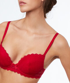 Soutien-gorge n°1 - magic up rouge.