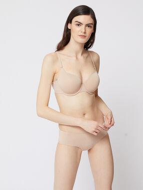 Soutien-gorge n°5 - ampliforme classique beige/ peau.