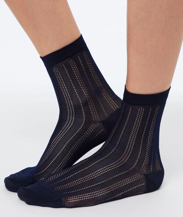 Korte sokken viscose;${refinementColor}