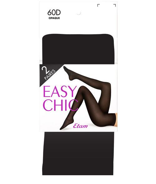 Collant 2 paires Etam Etam Accessoires > ACCESSOIRES PRET-A-PORTER > Chaussettes & Collants
