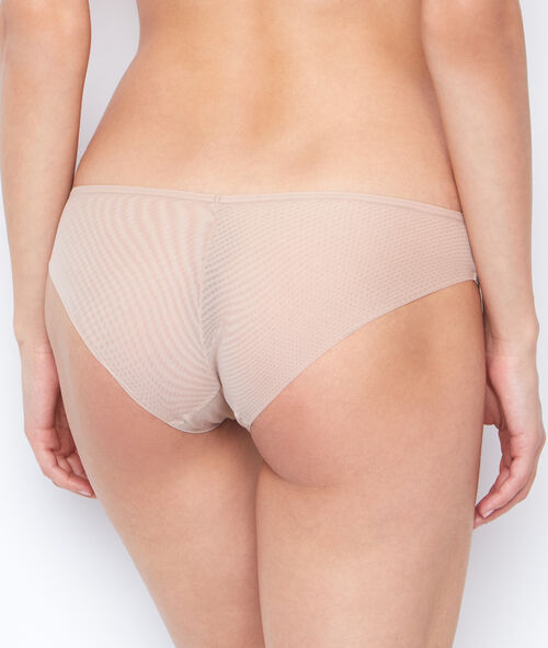 Shorty micro et tulle
