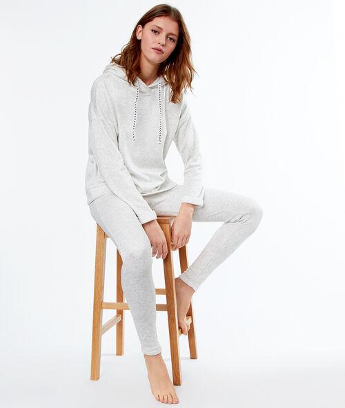 Pantalon homewear chiné Etam Etam OUTLET > OUTLET > Nuit > Bas de pyjama
