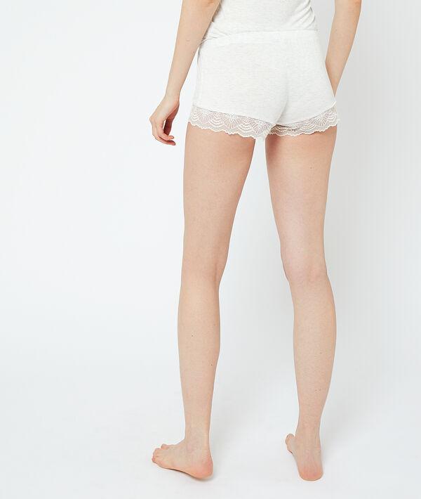 Short de pyjama bas dentelle;${refinementColor}