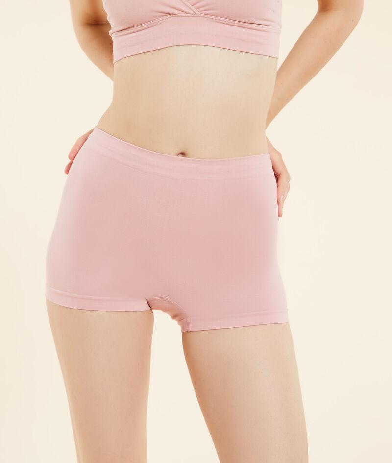Katoenen boyleg shorts voor optimaal comfort;${refinementColor}