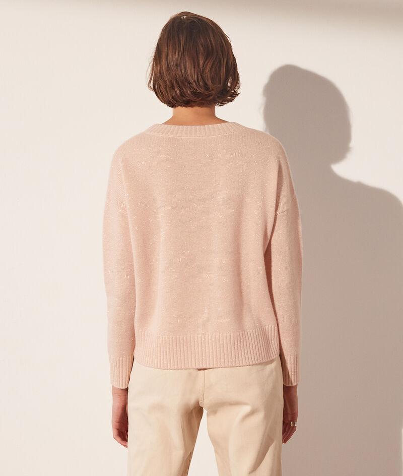 Pull col rond laine et cachemire