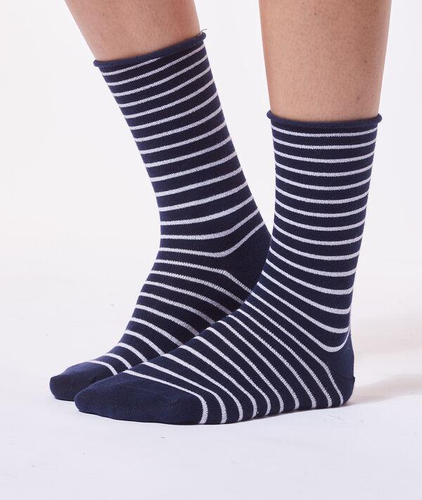 Gestreepte sokken