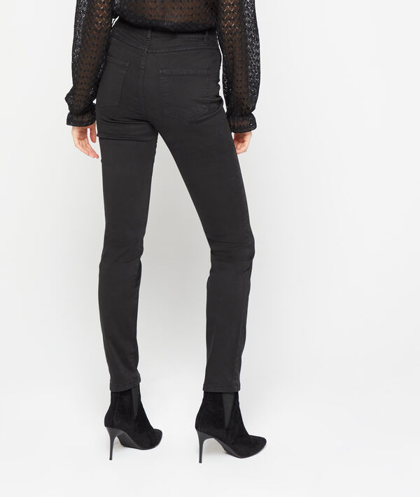 Pantalon slim en coton