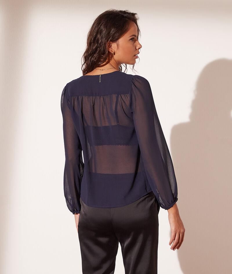 Transparant hemd