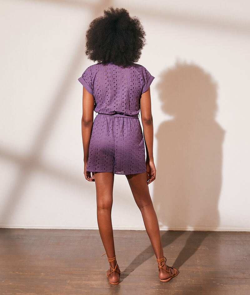 Combishort broderie anglaise