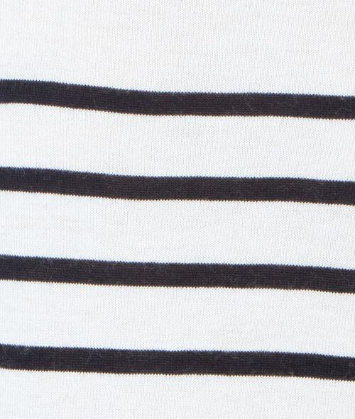Trui in tricot gestreept, marinestijl