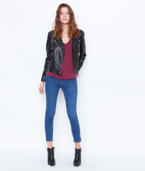 Pantacourt en jean