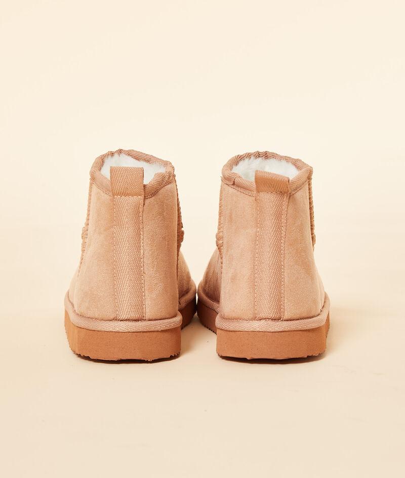 Chaussons bottines fourrés