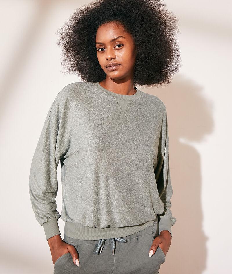 Sweater van badstof