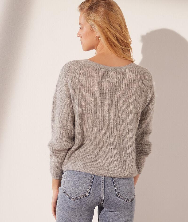 Omkeerbare tricot vest